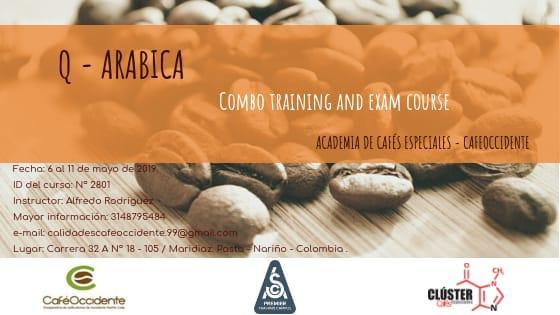 Q - ARABICA  COMBO TRAINING AND EXAM COURSE